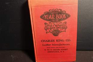 NEAT AND LOCAL CHARLES KING COMPANY LEATHER