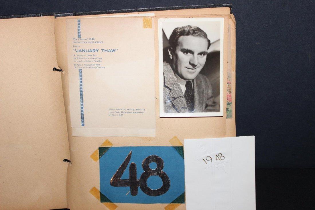 LOCAL INTEREST 1948 SCRAPBOOK INCLUDING GRADUATION