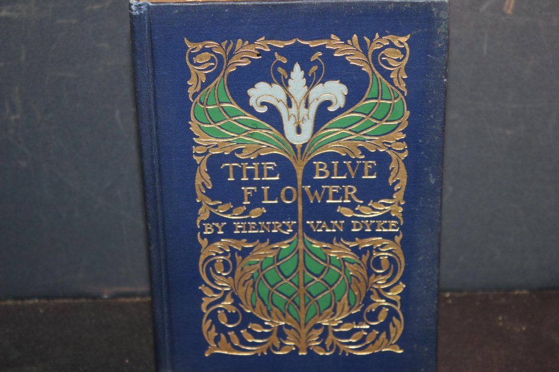 THE BLUE FLOWER BY HENRY VAN DYKE GREAT BOOK FOR