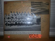 PSA CERTIFIED 1941 WORLD CHAMPION YANKEES MULTI-SIGNED