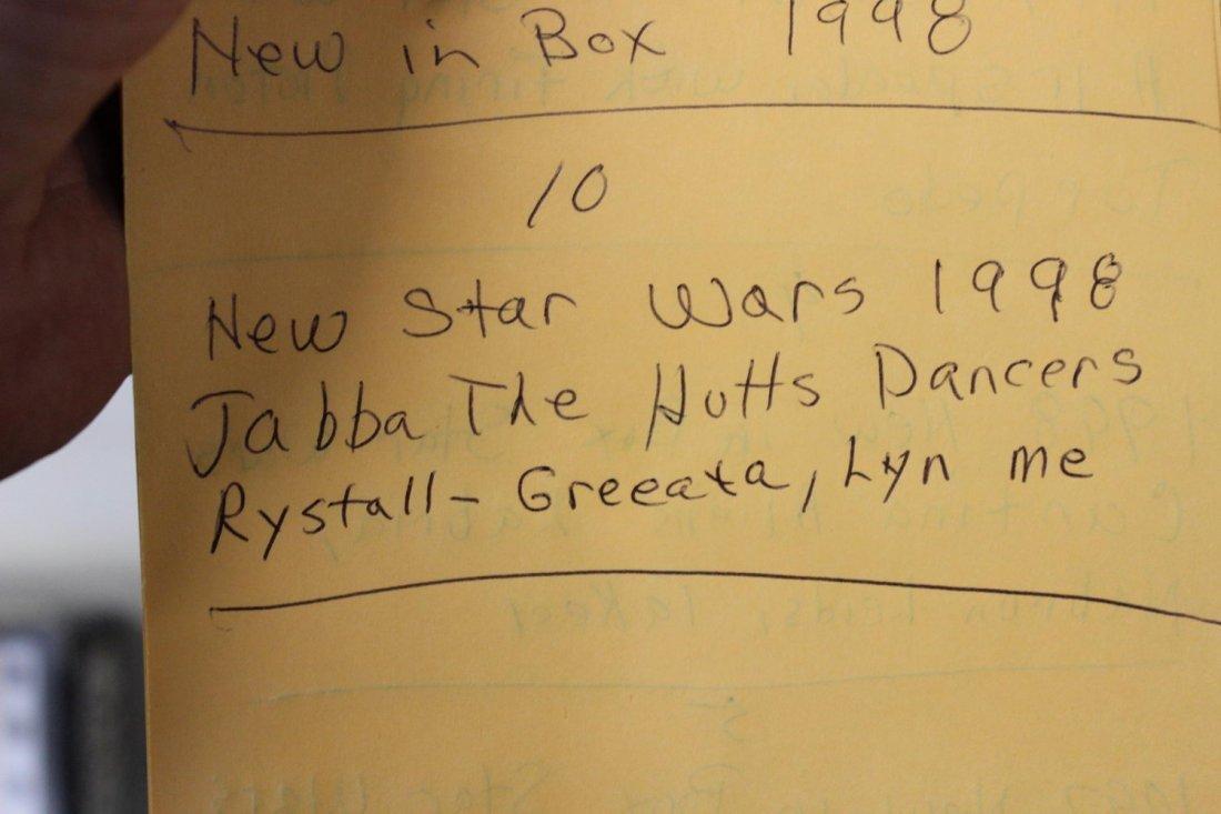 NEW STAR WARS 1998 JABBA THE HUT DANCERS RYSTALL - - 4