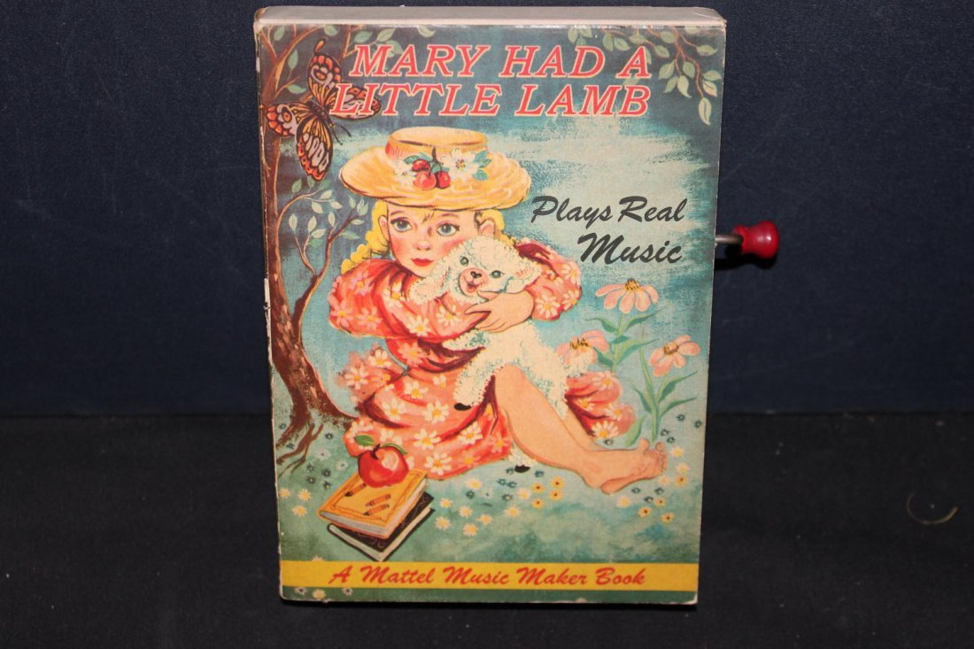 MARY HAD A LITTLE LAMB MUSIC BOOK - BOOK VERY GOOD