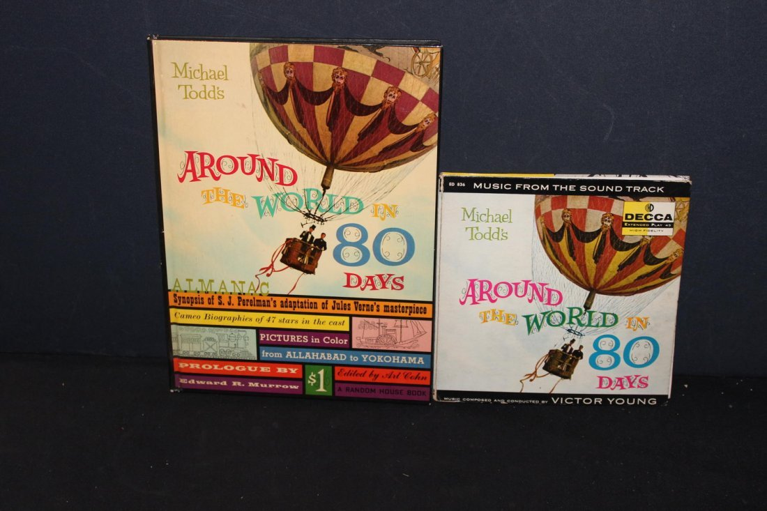 MICHAEL TODD'S AROUND THE WORLD IN 80 DAYS- BOOK AND