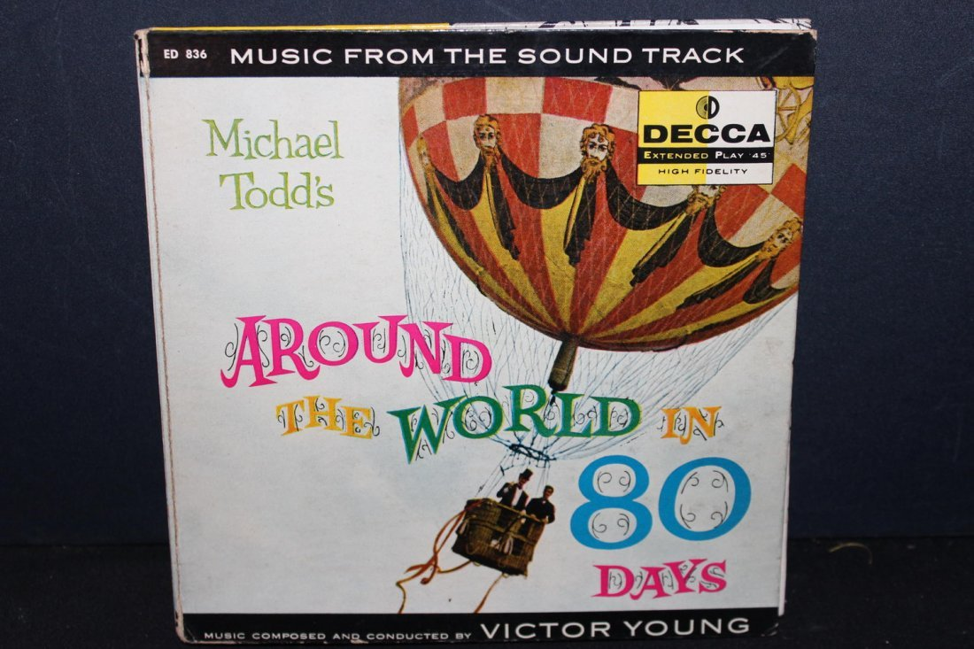 MICHAEL TODD'S AROUND THE WORLD IN 80 DAYS- BOOK AND - 4