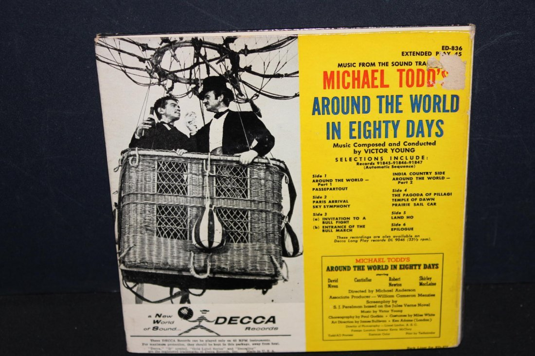 MICHAEL TODD'S AROUND THE WORLD IN 80 DAYS- BOOK AND - 5