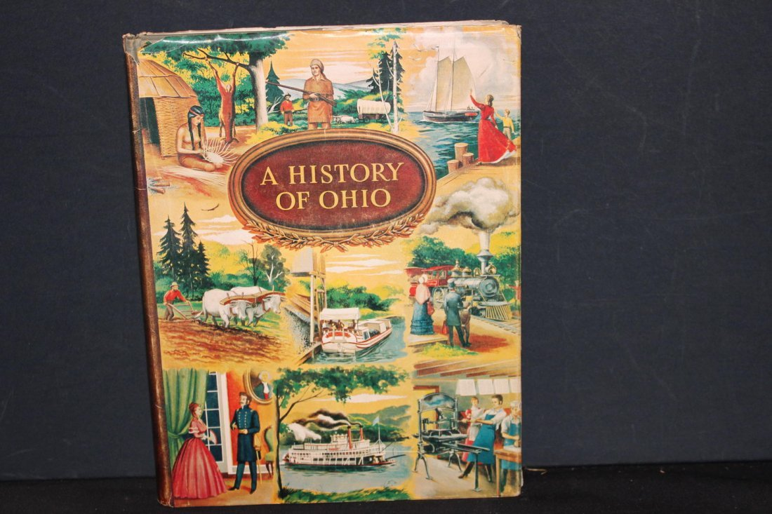 VERY NICE BOOK A HISTORY OF OHIO MOST INFORMATIVE WITH
