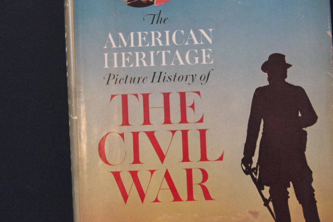 AMERICAN HERITAGE PICTURE OF THE CIVIL WAR A MUST FOR