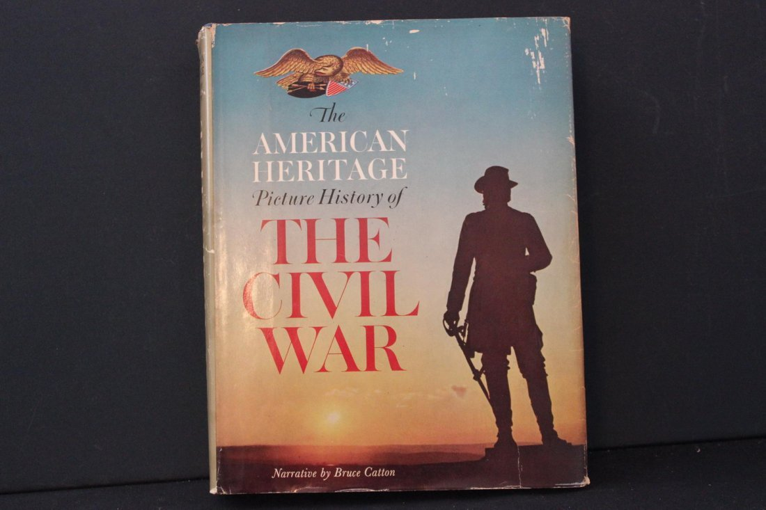 AMERICAN HERITAGE PICTURE OF THE CIVIL WAR A MUST FOR - 2