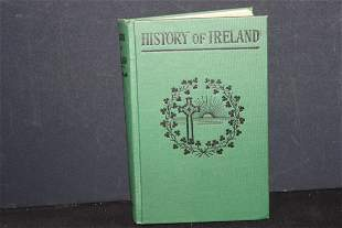 HISTORY OF IRELAND BY A.M. NOLAN 365 PAGES GOOD