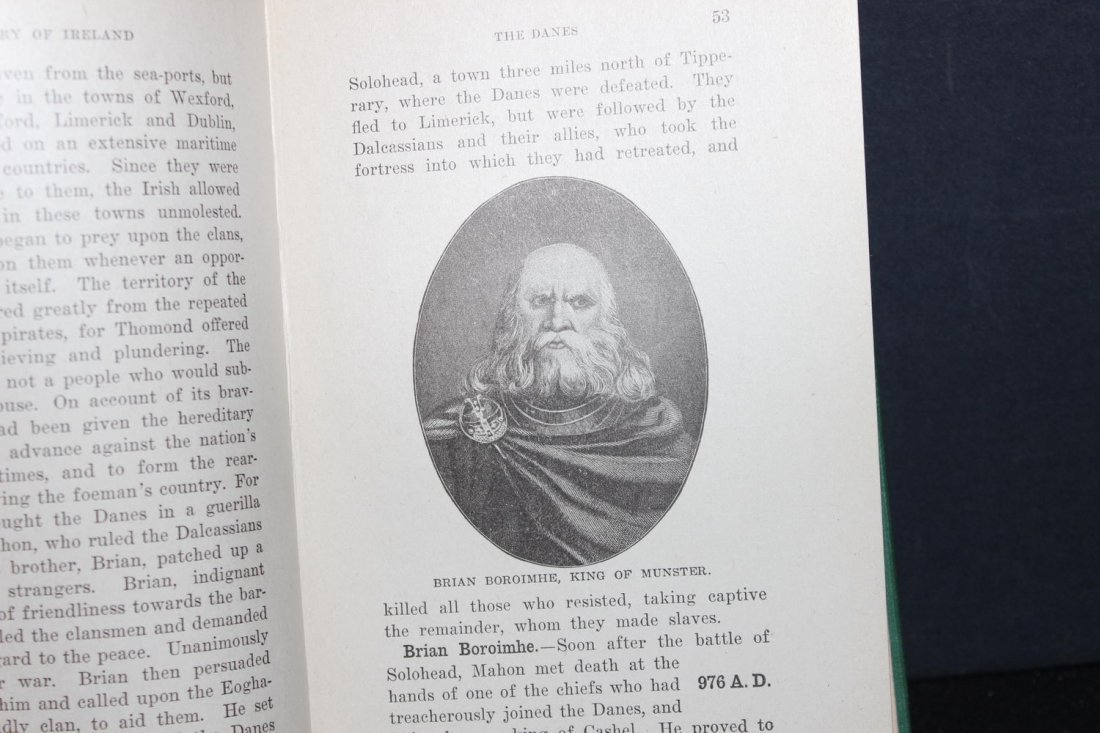 HISTORY OF IRELAND BY A.M. NOLAN 365 PAGES GOOD - 2