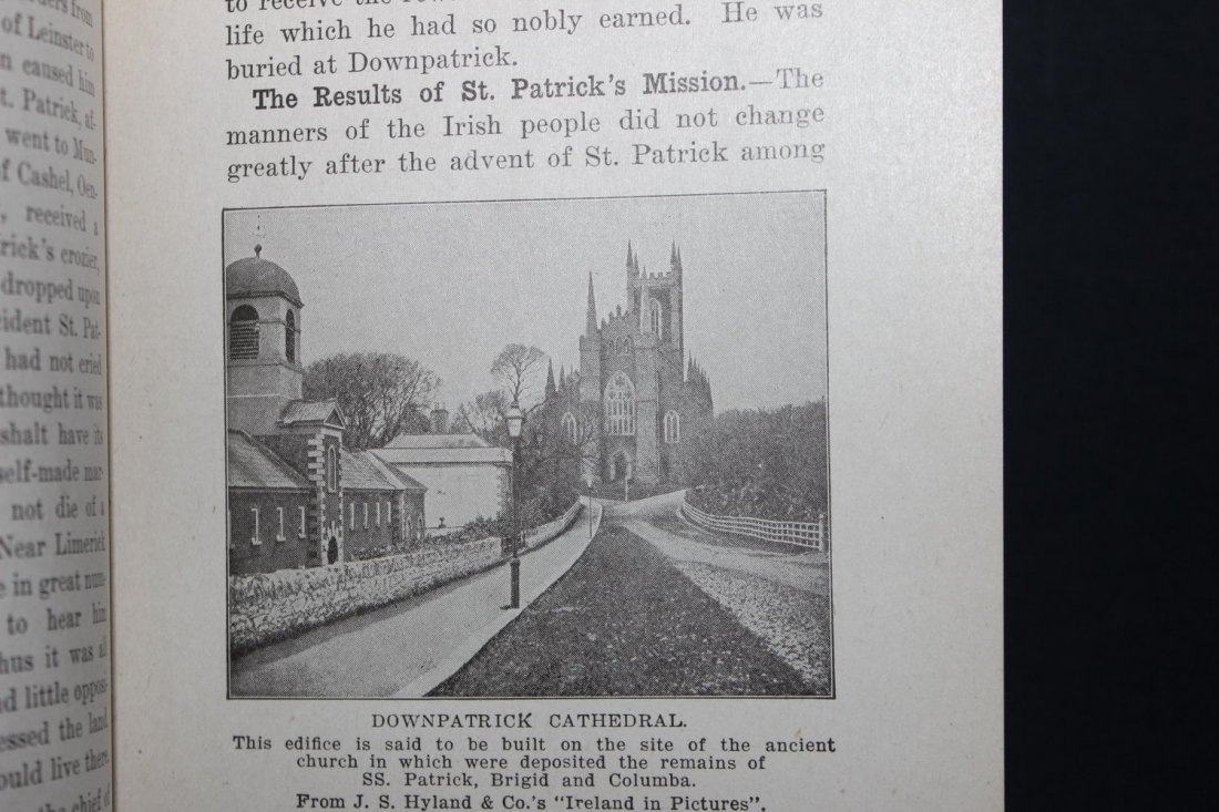 HISTORY OF IRELAND BY A.M. NOLAN 365 PAGES GOOD - 3