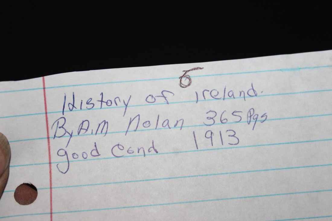HISTORY OF IRELAND BY A.M. NOLAN 365 PAGES GOOD - 6