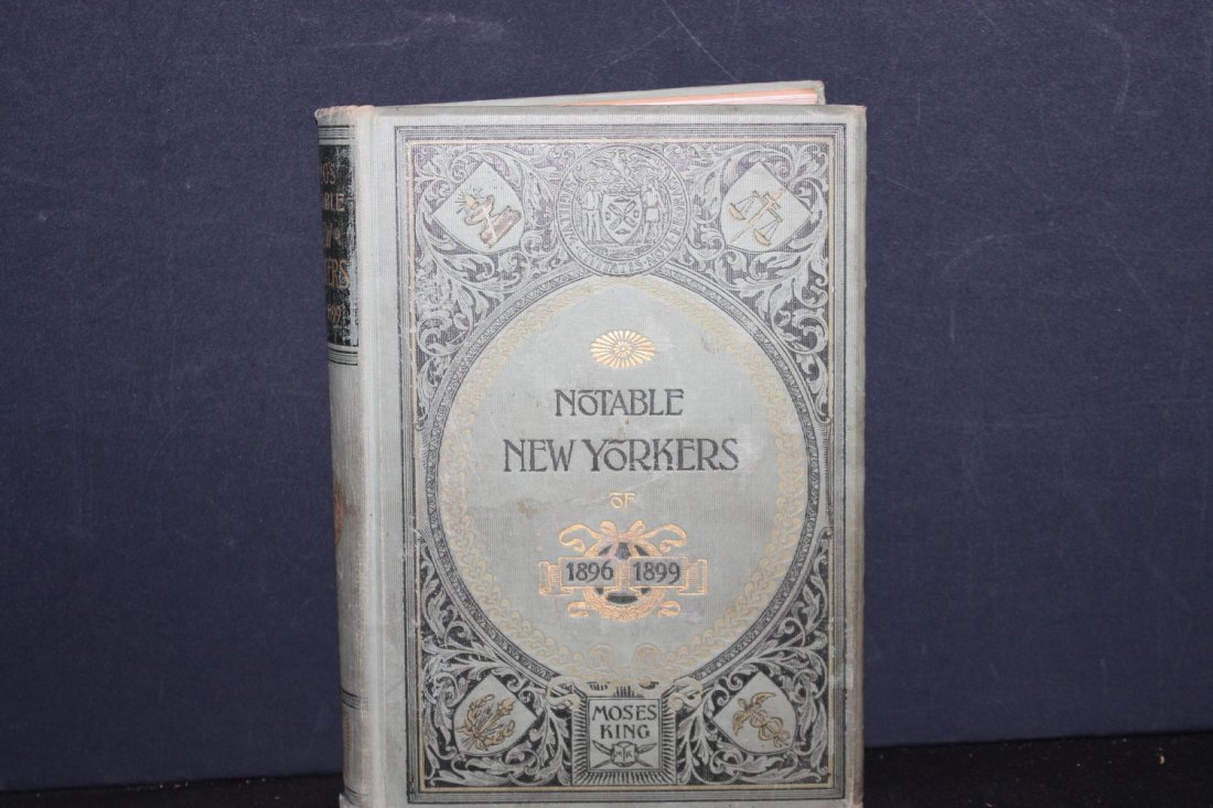 KING'S NOTABLE NEW YORKERS 1896 TO 1899 THE MOST