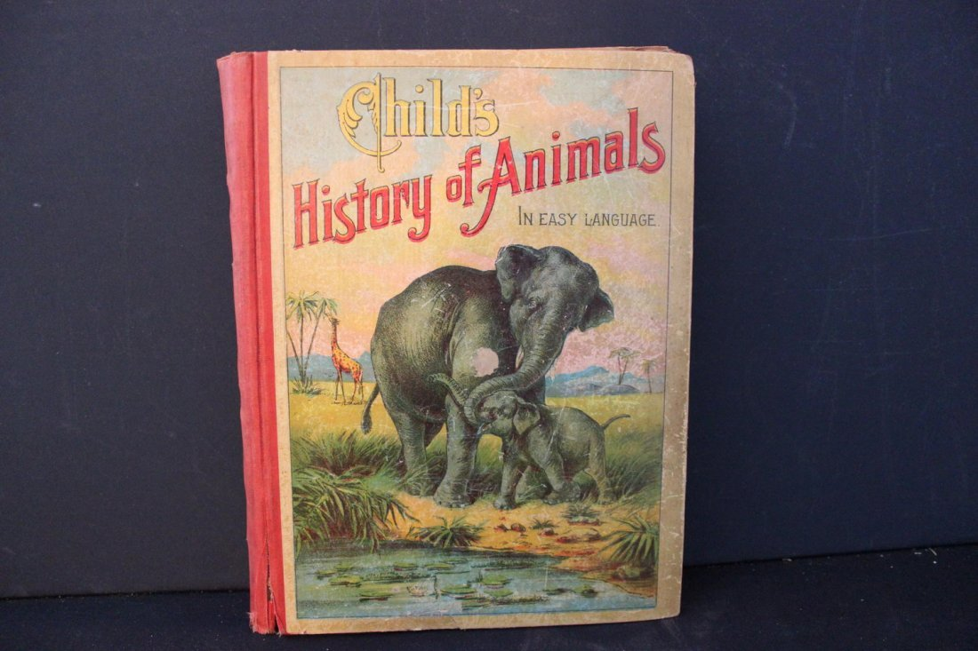 CHILD'S HISTORY OF ANIMALS BY LINDA B MILLER 284 PAGES