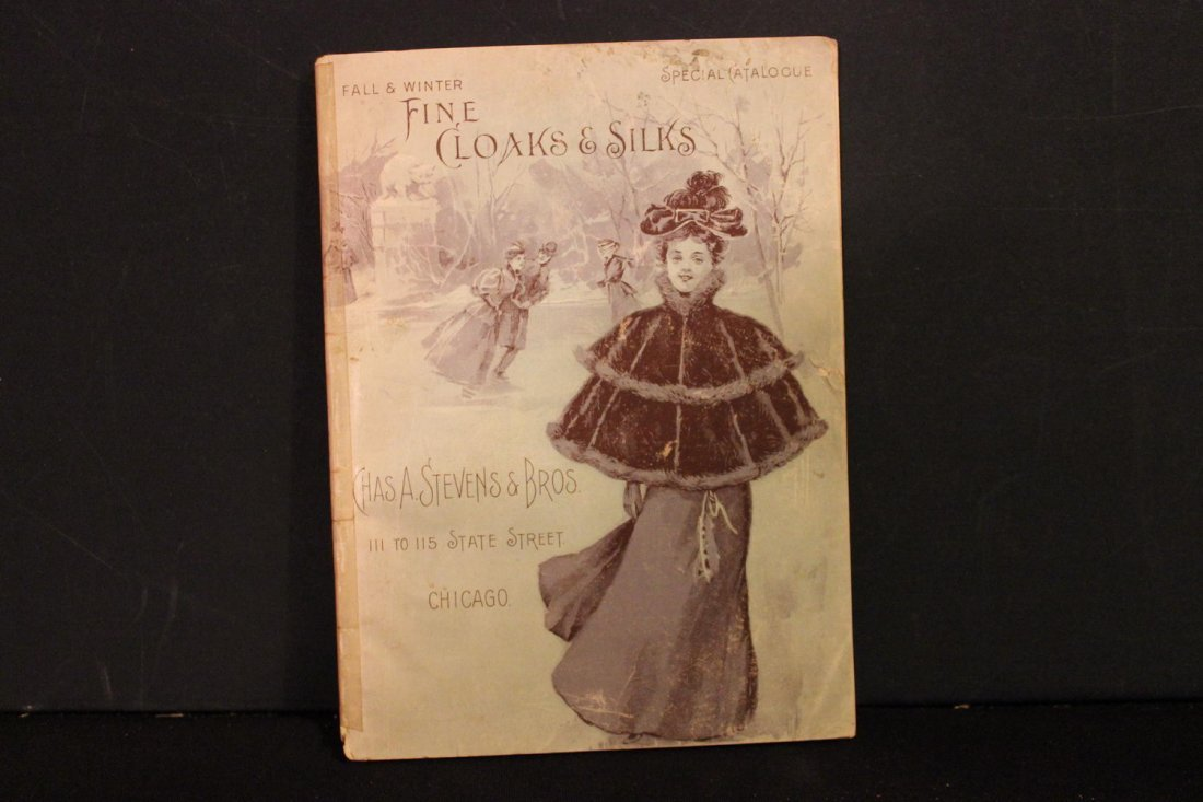 THIS IS A GREAT CATALOG OF 1895 LADIES FINE CLOAKS AND