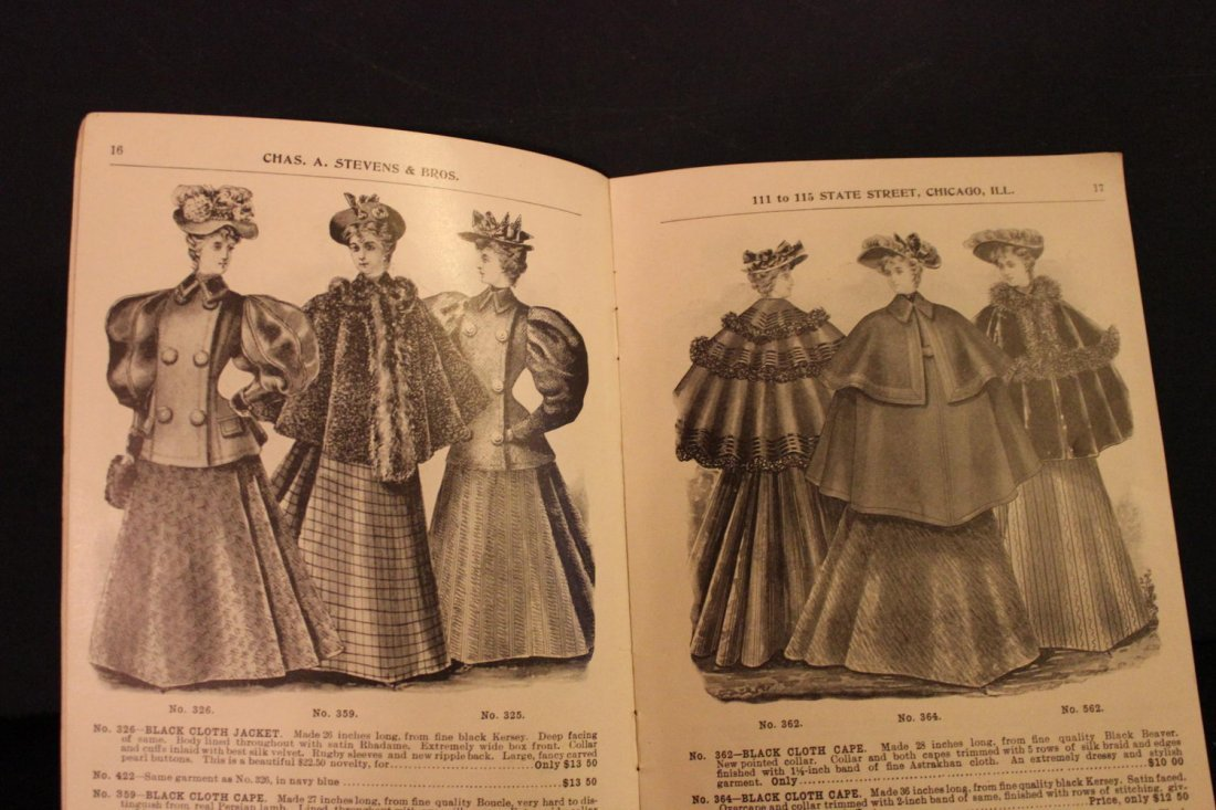 THIS IS A GREAT CATALOG OF 1895 LADIES FINE CLOAKS AND - 2