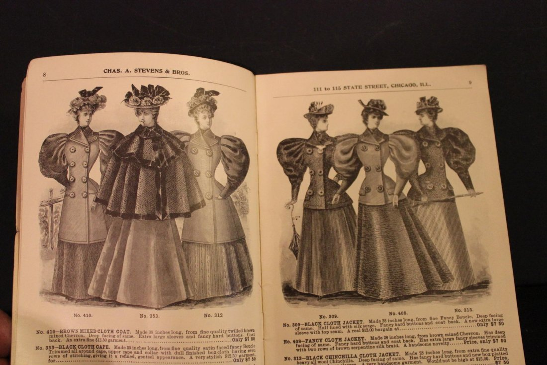 THIS IS A GREAT CATALOG OF 1895 LADIES FINE CLOAKS AND - 3
