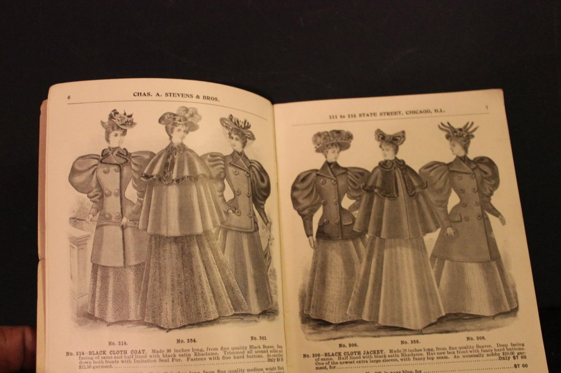 THIS IS A GREAT CATALOG OF 1895 LADIES FINE CLOAKS AND - 4