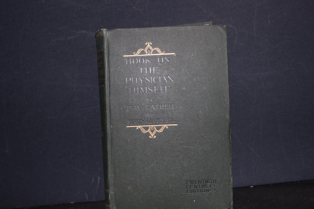 MEDICAL BOOK ON THE PHYSICIAN HIMSELF WRITTEN BY DW