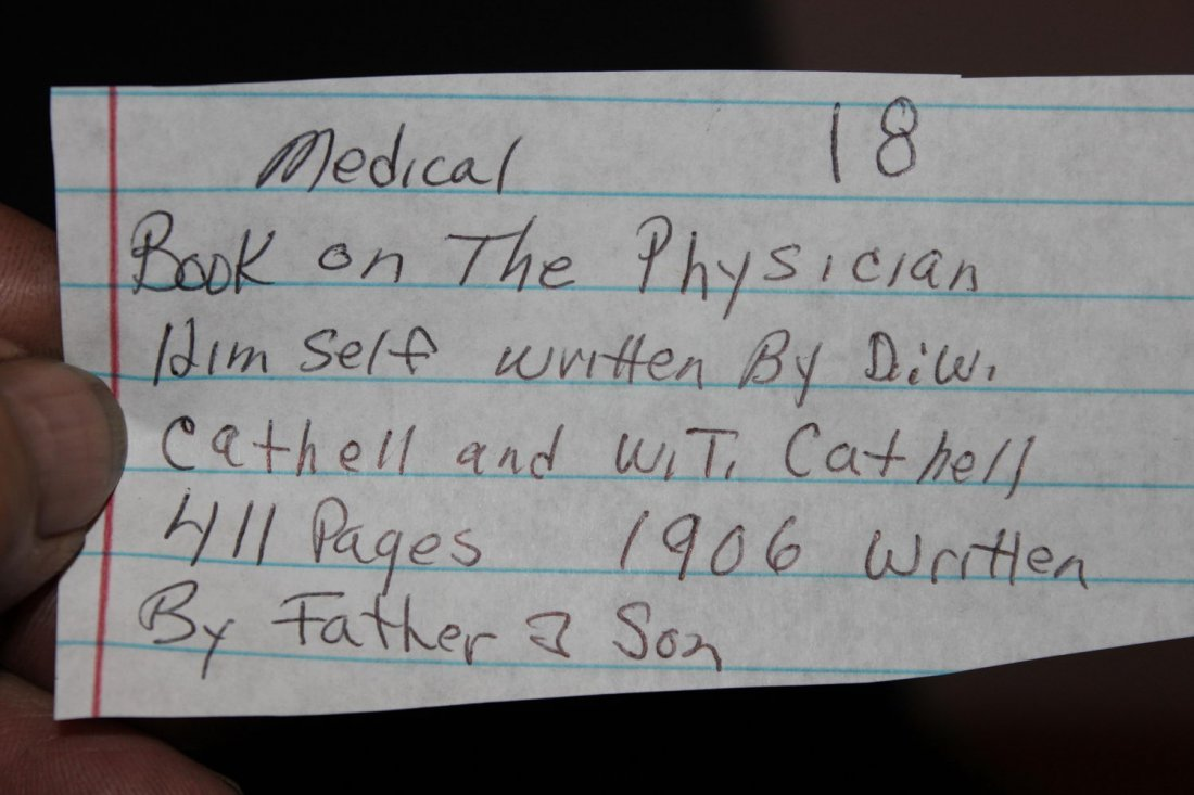 MEDICAL BOOK ON THE PHYSICIAN HIMSELF WRITTEN BY DW - 4