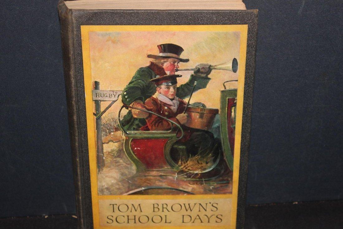 TOM BROWN'S SCHOOL DAYS SEVERAL ILLUSTRATIONS WRITTEN
