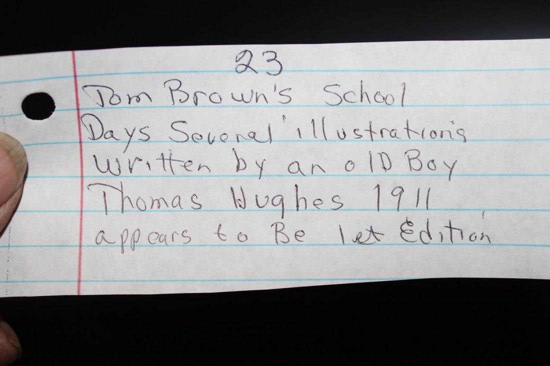 TOM BROWN'S SCHOOL DAYS SEVERAL ILLUSTRATIONS WRITTEN - 5