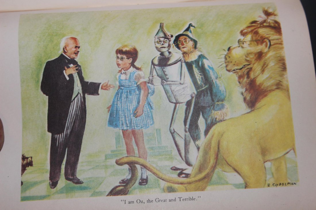 THE WIZARD OF OZ WRITTEN BY FRANK BAUM 209 PAGES VERY - 6