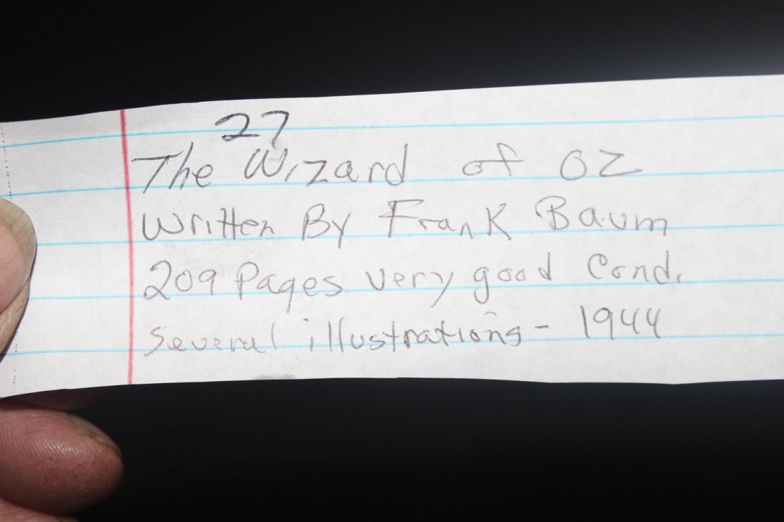 THE WIZARD OF OZ WRITTEN BY FRANK BAUM 209 PAGES VERY - 7