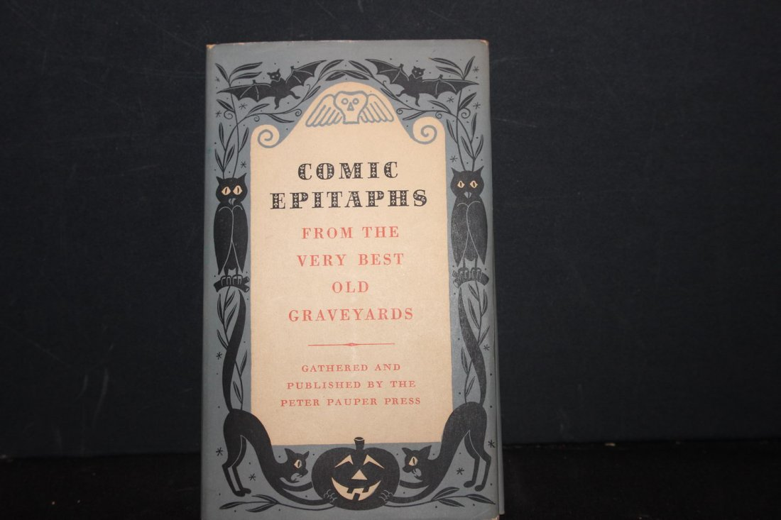 FUN READING COMIC EPITAPHS FROM THE VERY BEST GREAT