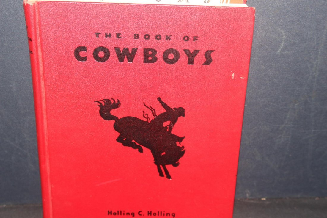 GREAT BOOK ON COWBOYS BY HOLLING C HOLLING 1936 126