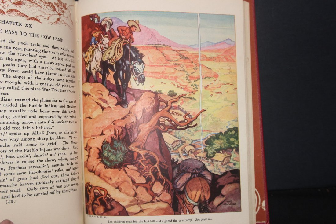 GREAT BOOK ON COWBOYS BY HOLLING C HOLLING 1936 126 - 3