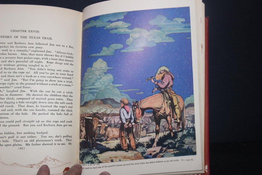 GREAT BOOK ON COWBOYS BY HOLLING C HOLLING 1936 126 - 4