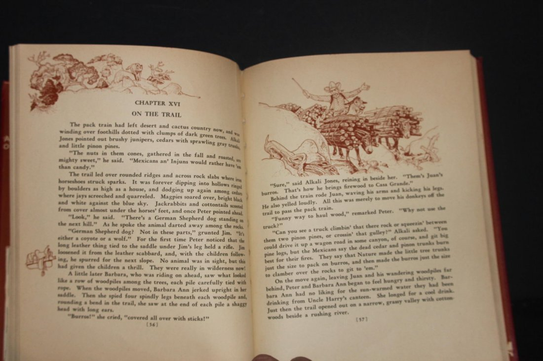 GREAT BOOK ON COWBOYS BY HOLLING C HOLLING 1936 126 - 5