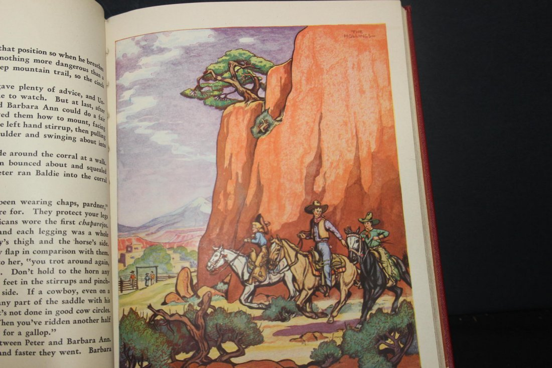 GREAT BOOK ON COWBOYS BY HOLLING C HOLLING 1936 126 - 6