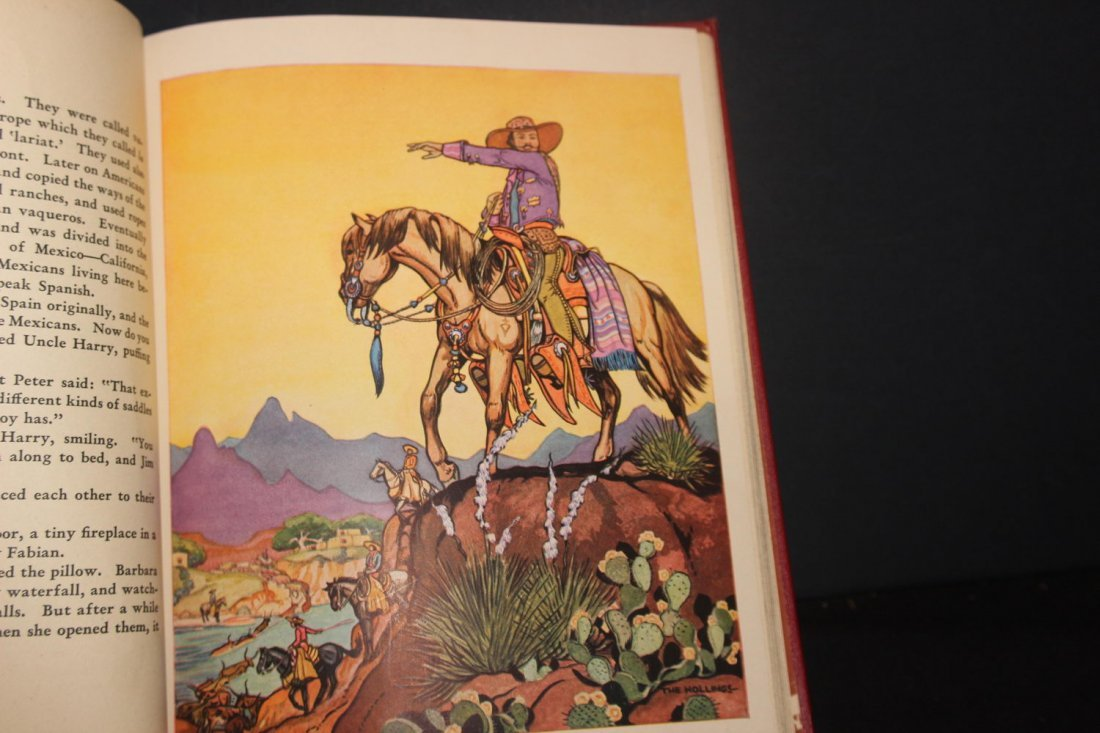 GREAT BOOK ON COWBOYS BY HOLLING C HOLLING 1936 126 - 7