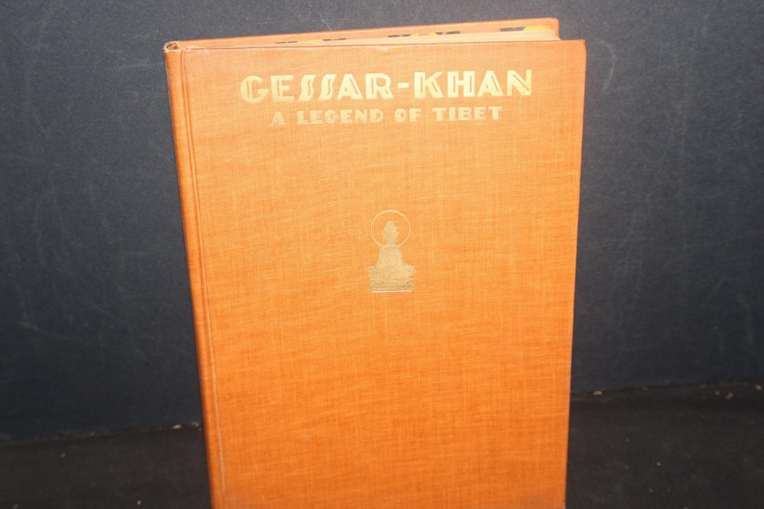 GESSAR KHAN A LEGEND OF TIBET TOLD BY EITHER ZEITLIN - 2