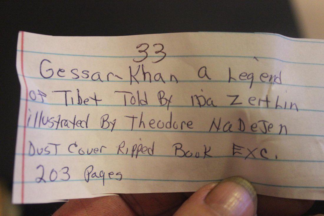 GESSAR KHAN A LEGEND OF TIBET TOLD BY EITHER ZEITLIN - 7