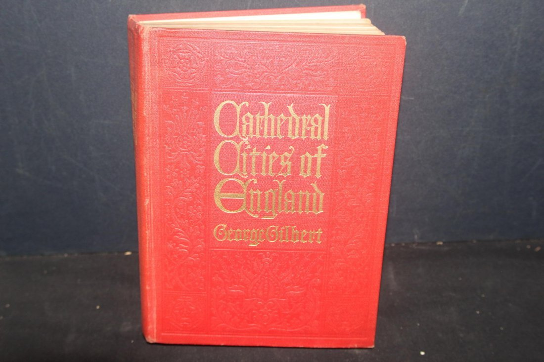 CATHEDRAL CITIES OF ENGLAND PUBLISHED 1905 WITH SEVERAL