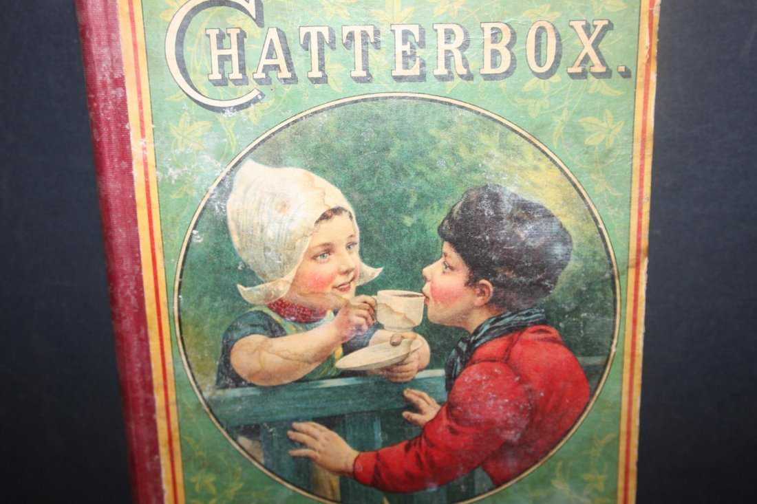 CHATTERBOX A GREAT CHILD'S BOOK FULLY ILLUSTRATED 1921 - 2