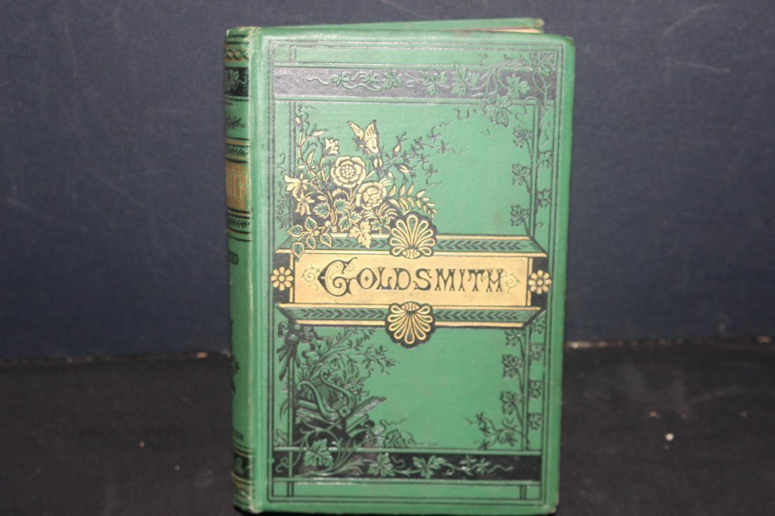 THE WORKS OF OLIVER GOLDSMITH ILLUSTRATED WITH MEMOIRS