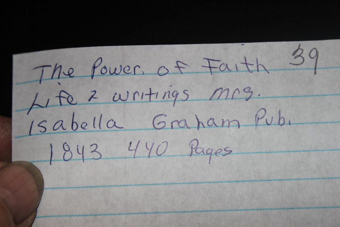 THE POWER OF FAITH LIFE AND WRITINGS MRS. ISABEL GRAHAM - 4