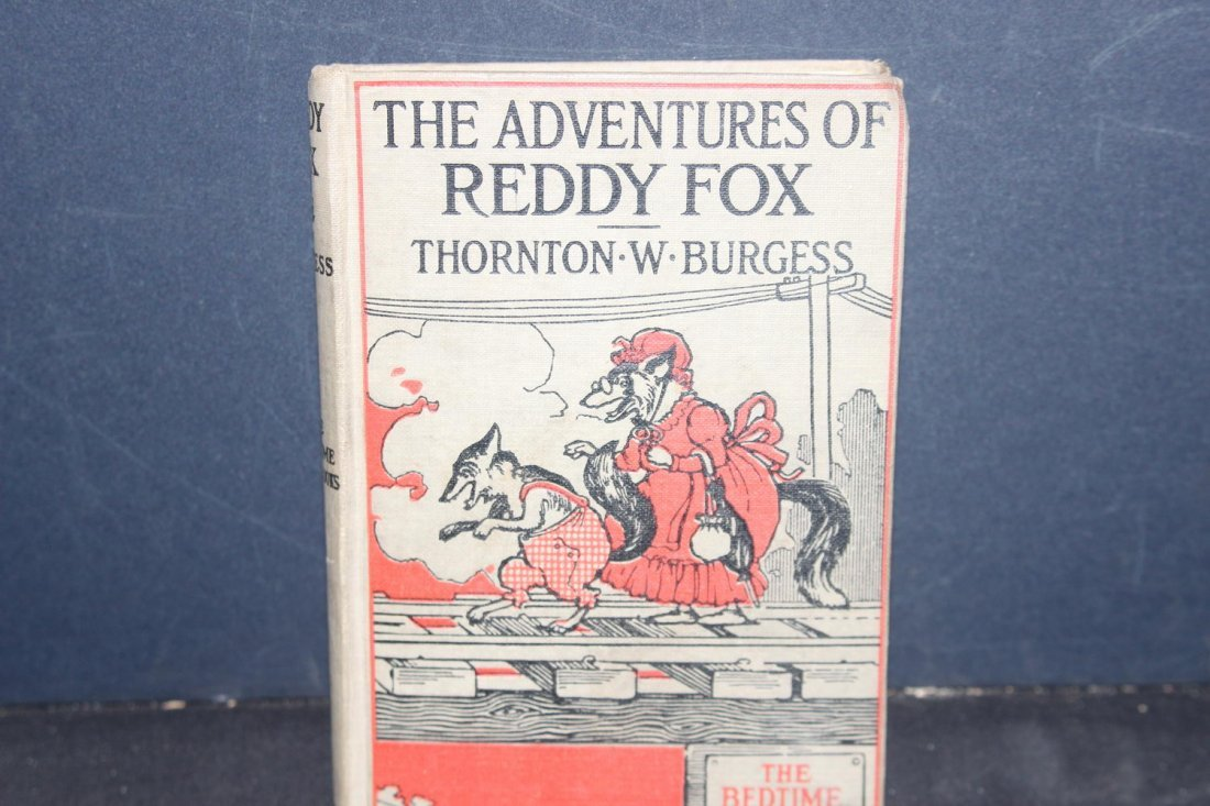 THE ADVENTURES OF REDDY FOX 1920 GREAT YOUNG PEOPLE'S