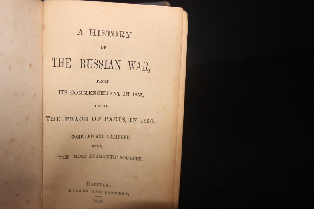 HISTORY OF THE RUSSIAN WAR BY HALIFAX MILNER AND - 4