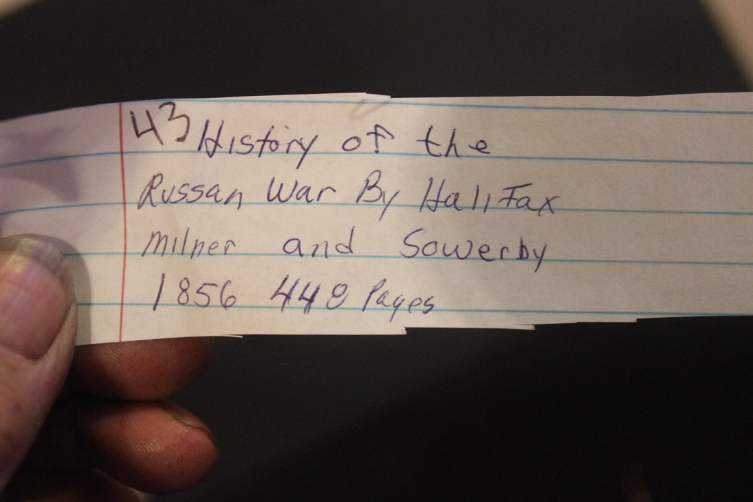 HISTORY OF THE RUSSIAN WAR BY HALIFAX MILNER AND - 5