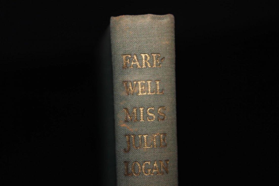 NICE BOOK BY JM BARRIE FAREWELL MISS JULIE LOGAN 103 - 3