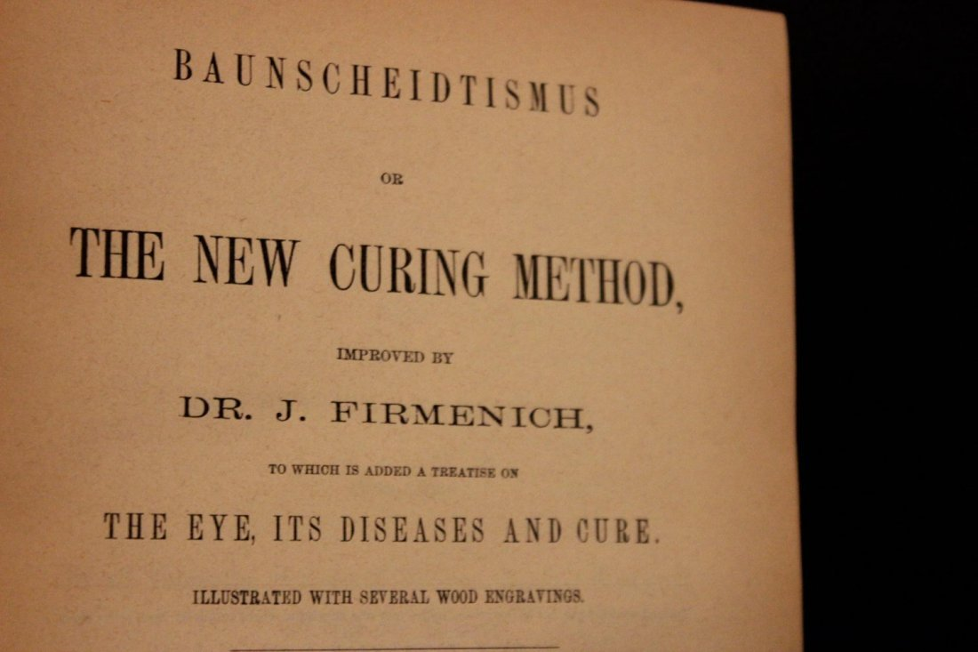 MEDICAL BOOK THE NEW CURING METHOD - THE EYE ITS - 3