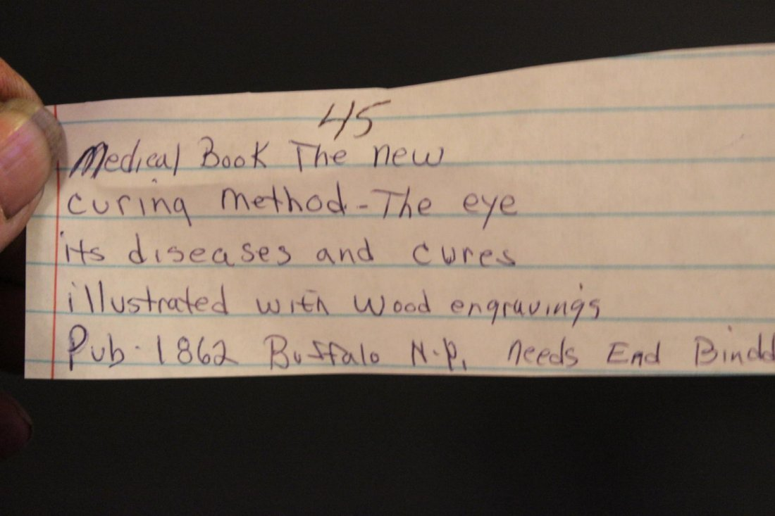 MEDICAL BOOK THE NEW CURING METHOD - THE EYE ITS - 5