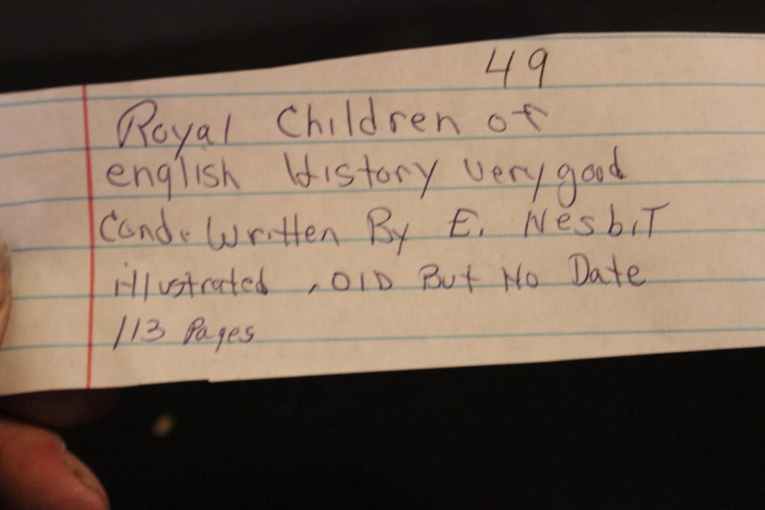ROYAL CHILDREN OF ENGLISH HISTORY VERY GOOD CONDITION - 8
