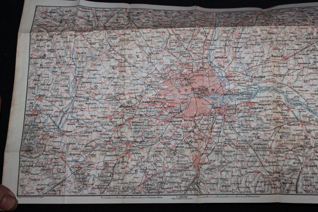2 TRAVELERS HANDBOOKS ON GREAT BRITAIN 1887 - 1897 BOTH - 2