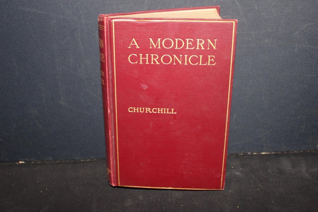 THE MODERN CHRONICLE BY WINSTON CHURCHILL ILLUSTRATED